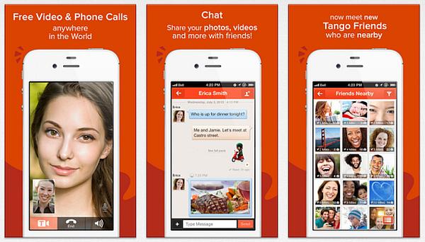 Tango-app-gratis